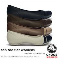 crocs captoe flat 085888666607