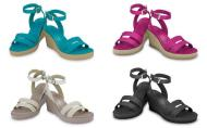 crocs leigh wedges 085888666607