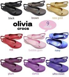 jual sepatu crocs olivia 085888666607
