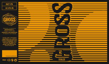 Gross - Ekialde - Etiqueta Cerveza