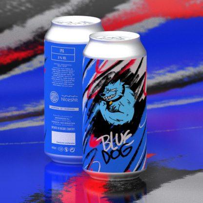 Gross x Nice Shit - Blue Dog IPA