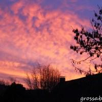 Was für ein schöner Sonnenaufgang!