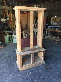 gun cabinet build out - Grossie's Cypress Furniture