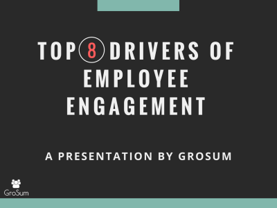 Top 8 drivers of employee engagement