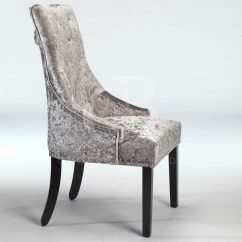 Ring Back Dining Chair Design Brief New Upholstered Buttoned With Studs
