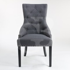 Scoop Back Upholstered Dining Chairs Colorful Fabric Side New Charcoal Linen Chair With Chrome