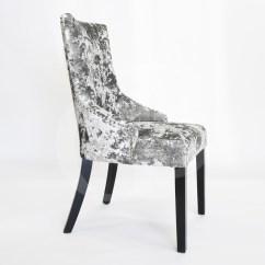 High Back Grey Velvet Dining Chairs Energi 24 Posture Task Chair Egb80 Gl New Premium Silver Deep Crushed Ascot