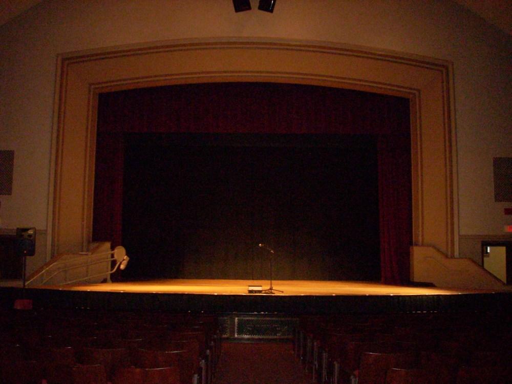 Richard C. Daniels Theater, Atwood Hall, Clark University, Worcester, MA (2/2)