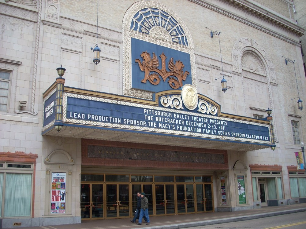 Benedum Center for the Performing Arts (Stanley Theatre), Pittsburgh, PA (1/2)