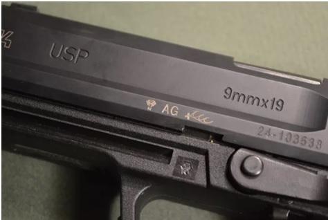 Oznaczenia na broni palnej