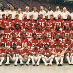 New England Patriots 1985 Team Photo