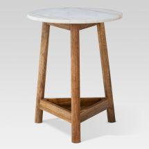 Marble Top Accent Table Target - Grottepastenaecollepardo