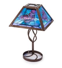 Butterfly Glass Accent Table - Grottepastenaecollepardo