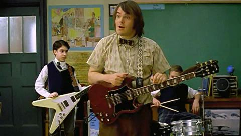 Image result for school of rock jack black