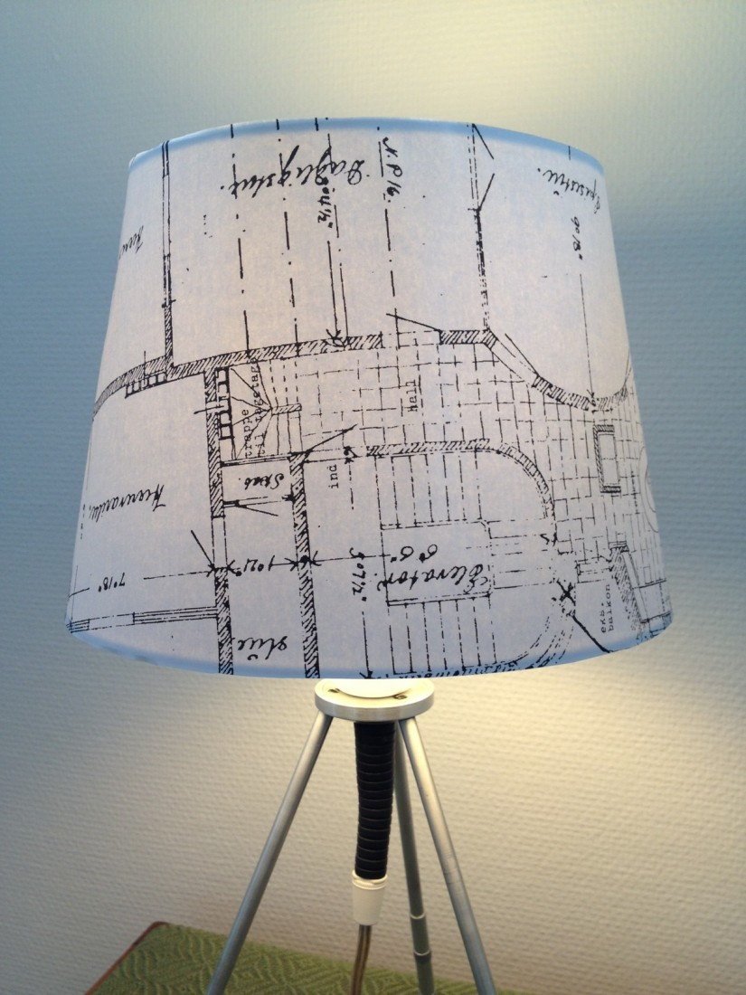 Blue Prints Charming  Table Lamp  Ground Floor Productions