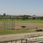 多摩川ガス橋緑地野球場