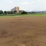 中央緑地河川敷グラウンド