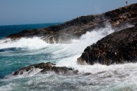 Waves on the coast of coffs Harbour