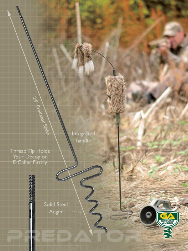 Predator Hunting Stake