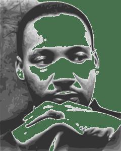 MLK, King, hearing Jesus