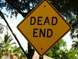 dead end, judgment, reasoning, bias, skeptic