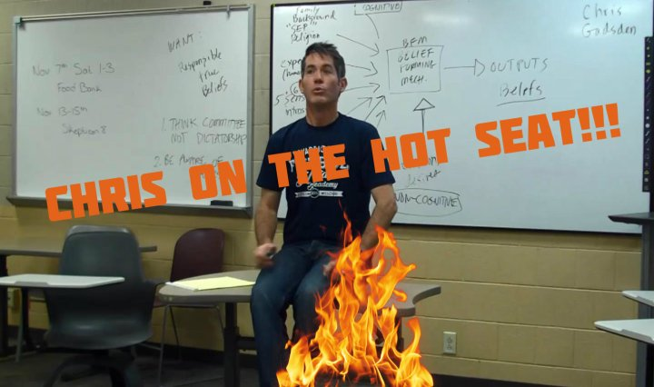 hot seat, persuasive, argument
