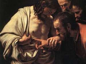 doubting thomas, evidence, belief, testimony