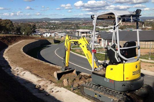 best quality zero turn mini excavator