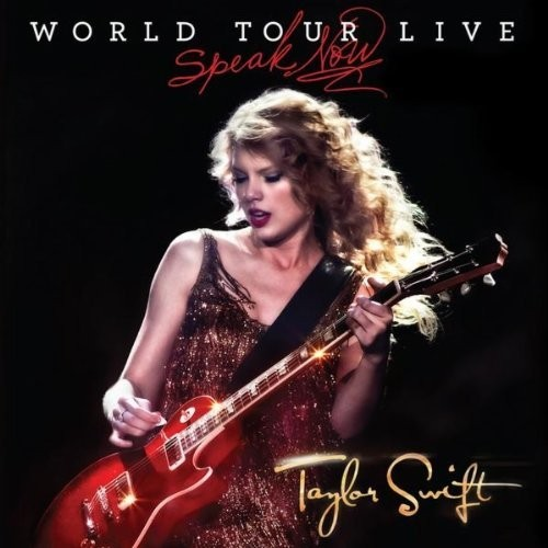 Portada de l'àlbum de Taylor Swift Speak Now World Tour