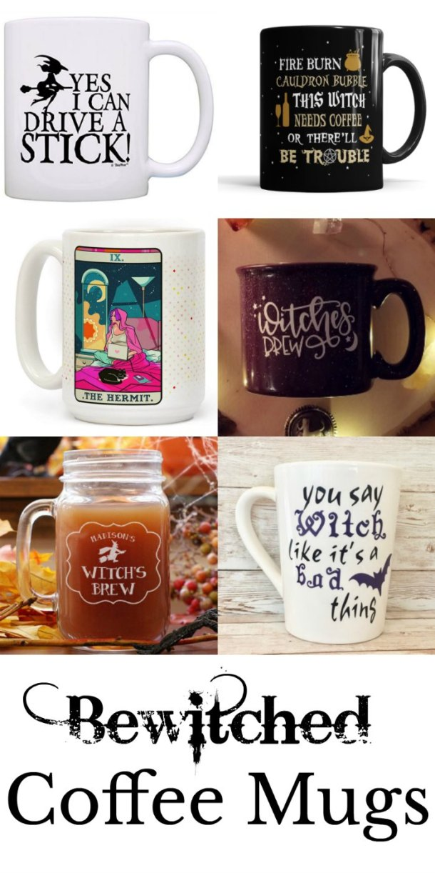 Perfectly Witchy coffee mugs