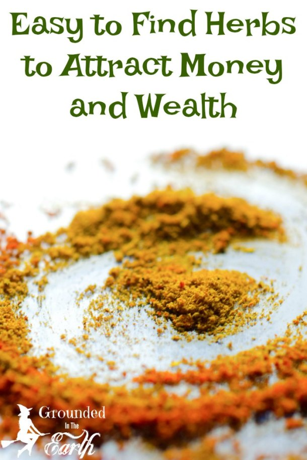 Need a book? These easy to find herbs attract money and wealth