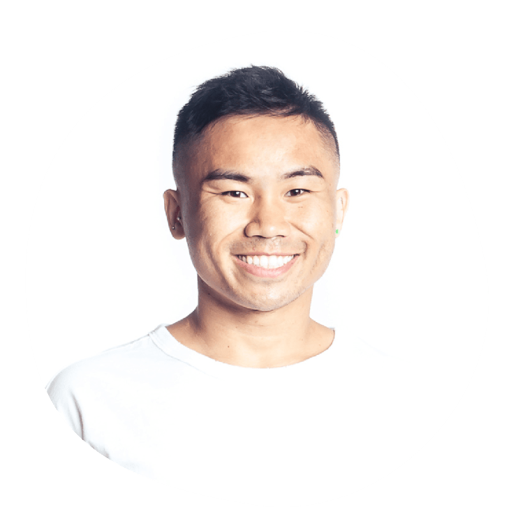 Chris Nguyen is a E-RYT 500 with the Yoga Alliance