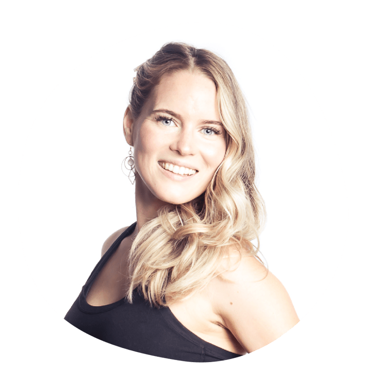 Dominique Cheshire is a Pilates instructor at Grounded Pilates