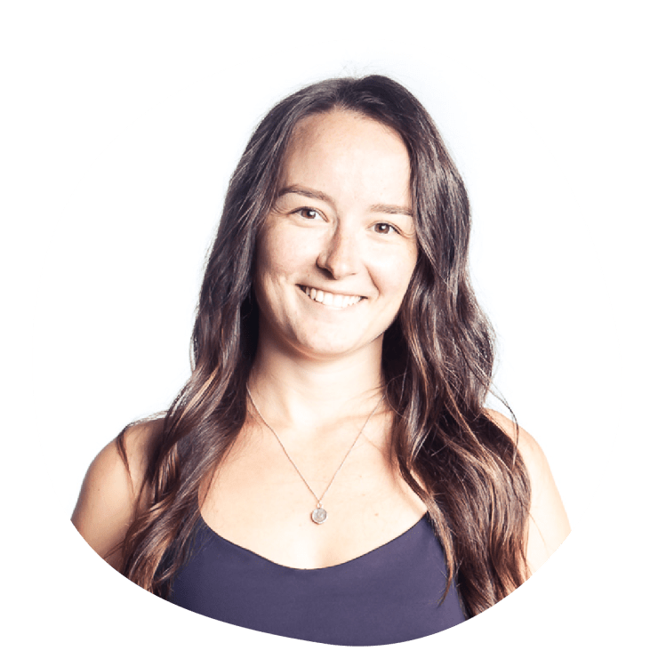 Emily Hobbes has a certification through STOTT Pilates and Exhale in reformer and mat.