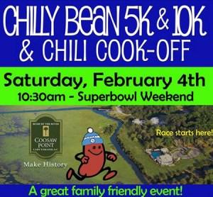 Chilly bean 5k Grounded Running