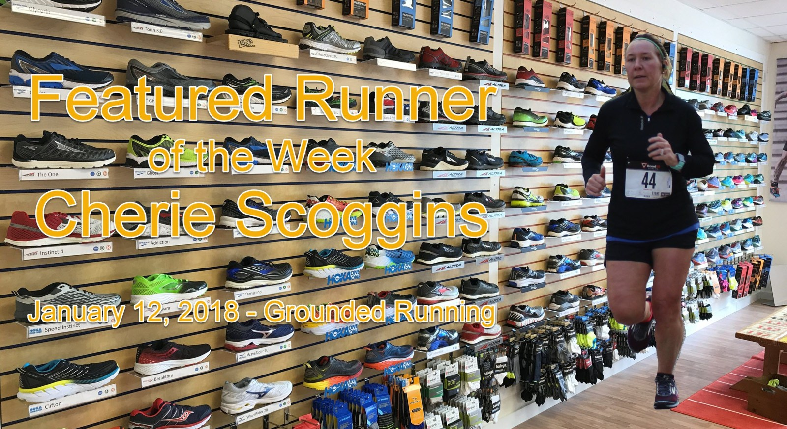 Cherie Scoggins Featured Runner of the Week