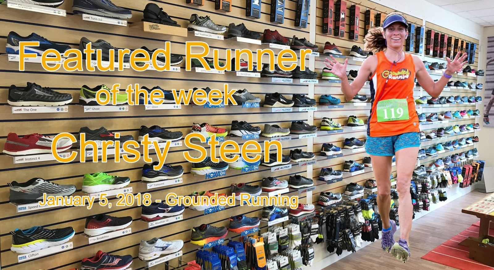 Christy Steen Featured Runner of the week