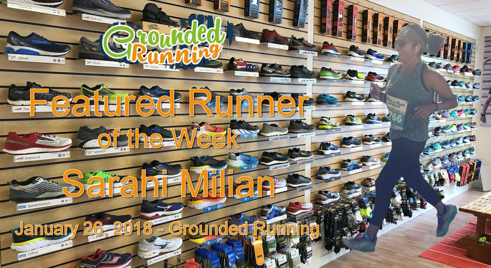 Sarahi Milian - Featured Runner of the Week