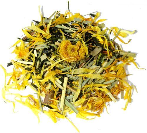 fukamushi sencha lemongrass tea