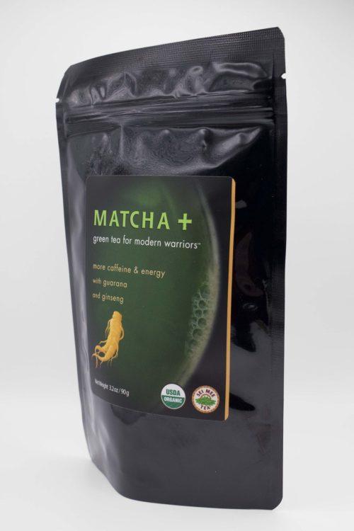 Matcha Plus Ginseng and Guarana Side