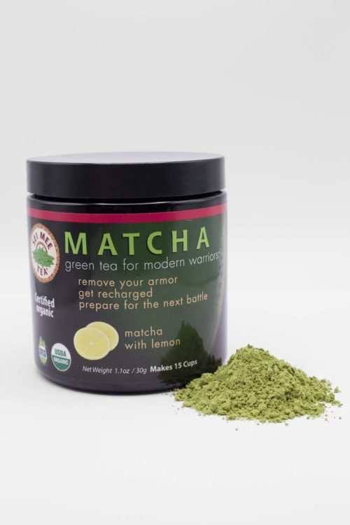 Matcha Lemon 30g with Powder