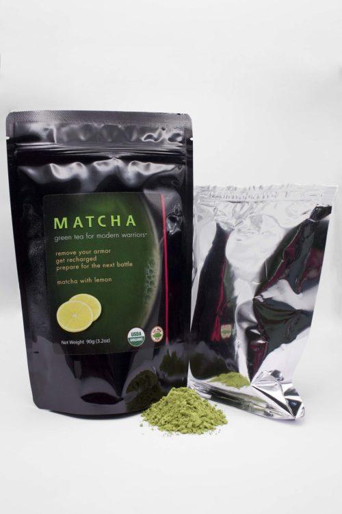 Matcha Lemon 90g with Powder
