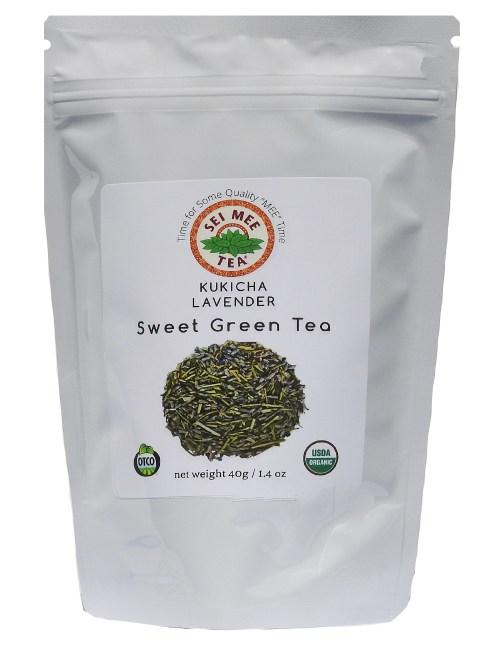 Organic Kukicha Lavender Tea