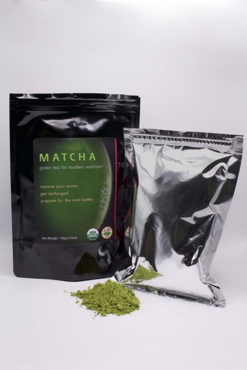 Matcha 100g Pouch with Powder