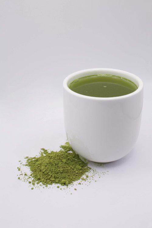 Mug of Matcha and Powder
