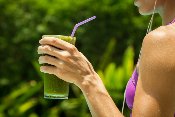 Is Green Tea good to drink before and during exercise?