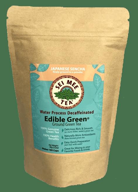 Edible Green Decaf Powder
