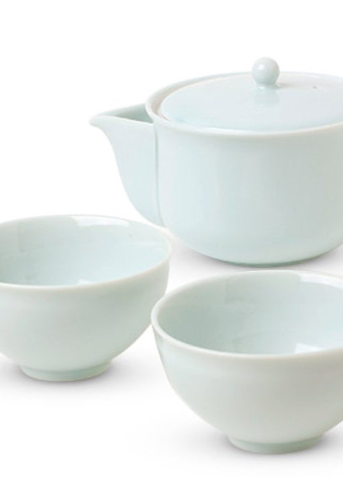 Celadon Glaze Tea Set