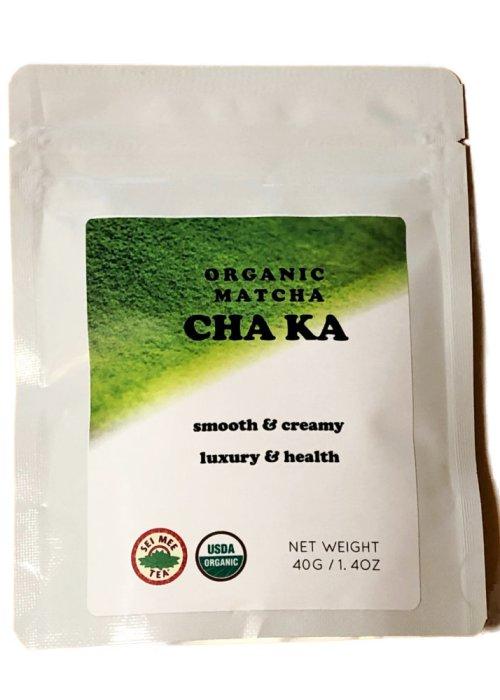 Organic Gyokuro Powder Matcha CHA KA