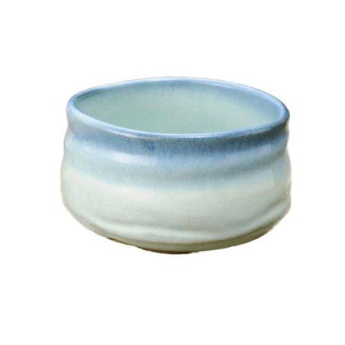Seto ware blue matcha bowl